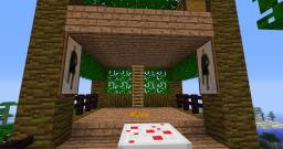 The treehouse of manly bowskills (no RedKenrok's allowed :P)(1.4.2) Minecraft Map & Project