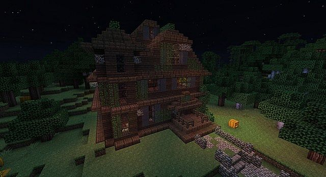 haunted house minecraft minecraft project