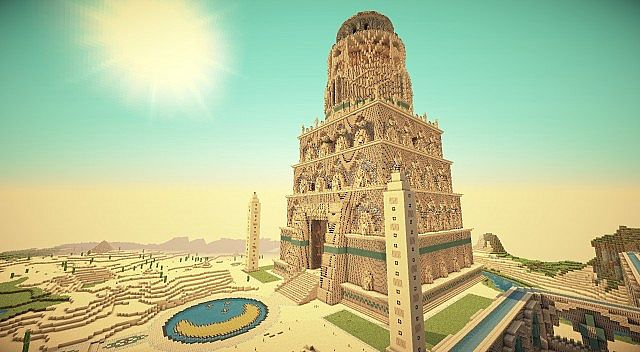 Lighthouse of Pharos Minecraft Project on davis islands map, prince islands map, king islands map, hall islands map, berry islands map,