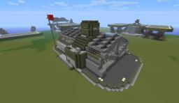 Halo: UNSC Barracks Minecraft Map & Project