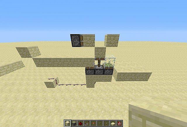 how to make a chicken killer in minecraft
