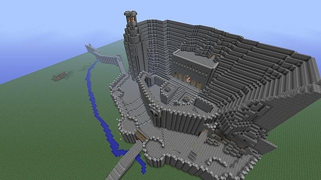 Helms Deep Minecraft Xbox 360 bulid Minecraft Project