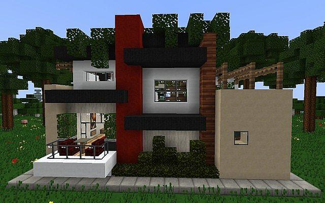 Minecraft Rooftop Garden