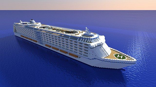 Cruise Ship Minecraft Images Amp Pictures  Becuo