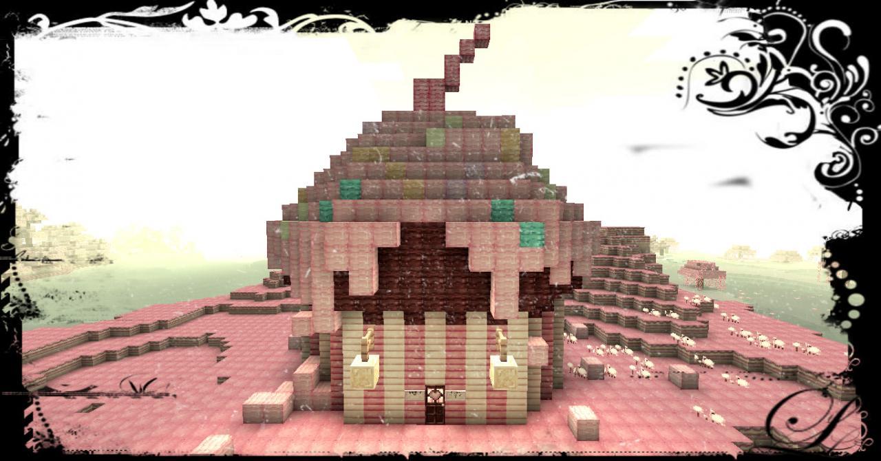 Cupcake Cake Minecraft