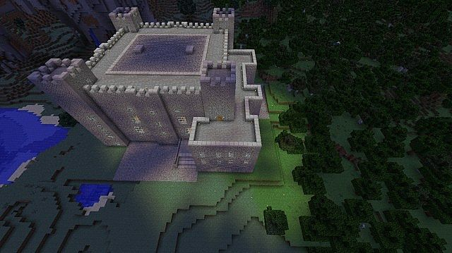 Dover Castle Minecraft Project
