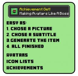 Free Easy Avatar And Achievement Generator Minecraft Blog