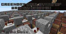 Greenday boulevard of broken Dreams! (Noteblock Song) Minecraft Map & Project