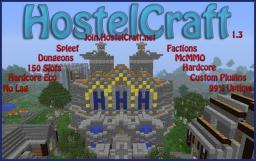 HostelCraft, [Factions, Mcmmo, Custom Plugins] Minecraft