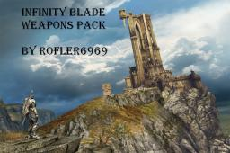 Infinity Blade Weapons Pack Minecraft Texture Pack