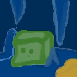Slime Art Minecraft Blog Post
