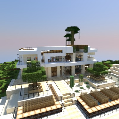 Modern house style of keralis minecraft project for Modern house projects