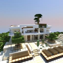 Modern House Style of Keralis Minecraft Map & Project