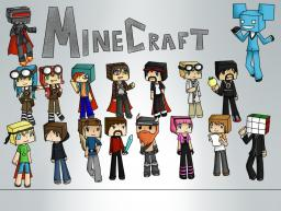 Minecraft YouTubers group drawing [I'm taking it to Minecon] Minecraft Blog Post