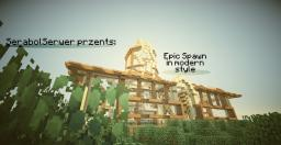 Epic Spawn Building/ Epicki Gmach Spawnu (by:Olek550,Kapelusznik7530,Paraboletanczol) Minecraft