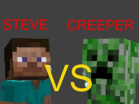Steve vs creeper texture pack minecraft texture pack - Minecraft creeper and steve ...