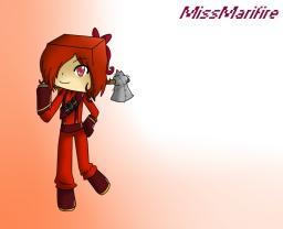 MissMarifire drawing Minecraft