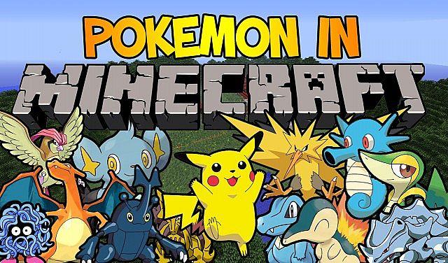 Pokemon in Minecraft!