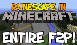 Runescape in Minecraft Minecraft Map & Project