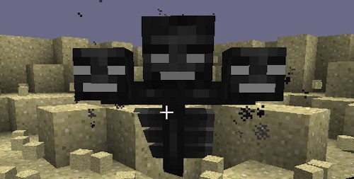 how to make a wither boss in minecraft