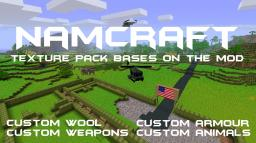 NamCraft - TexturePack based on the Mod