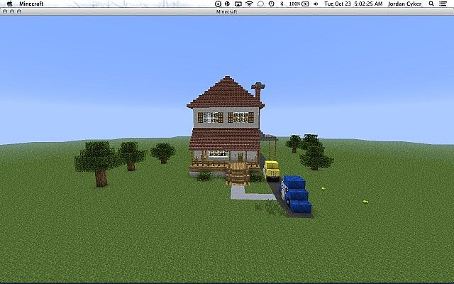 House Minecraft Project Family Guy House Minecraft