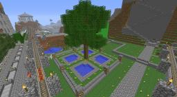 Small Tree Park Minecraft Map & Project