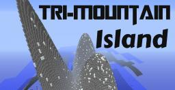 Tri-Mountain Island Minecraft Map & Project