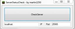 [Program] ServerStatusCheck Minecraft Mod