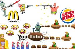 War Of The Hamburgers Minecraft Map & Project