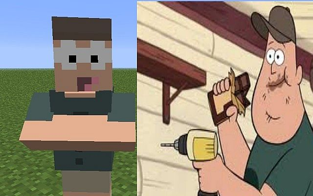 how to build gravity falls in minecraft