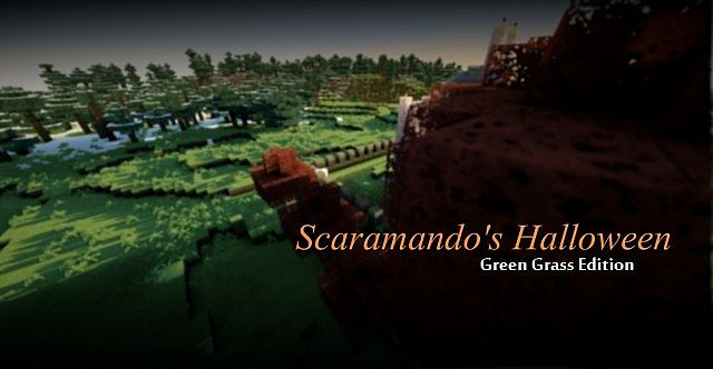 Scaramando's Halloween - 64x Green grass (32x and Seus versions