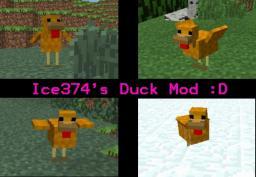 Duck Mod [must have] Minecraft Mod