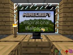 Minecraft ~ Inspirational Wallpaper Pack Minecraft Blog
