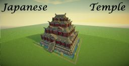 Huge Japanese Temple (Asian Style Castle) + Download! Minecraft Map & Project