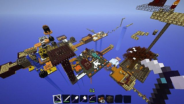 Another veiw of the skyblock map.