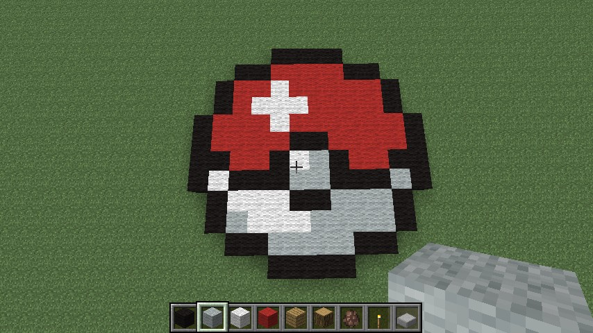 How To Craft A Pokeball In Minecraft