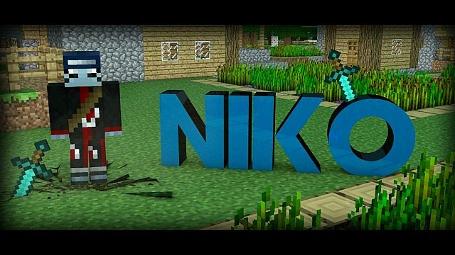 Minecraft Intro Template Cinema 4D - - ( Requests are welcome ...