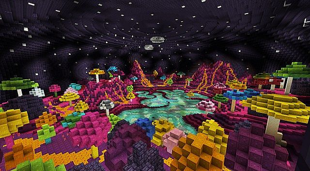 Sabina - Alien Mushroom Planet Minecraft Project  Sabina - Alien ...
