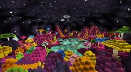 Sabina - Alien Mushroom Planet Minecraft Map & Project