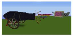 Nyan cannon! Minecraft Map & Project