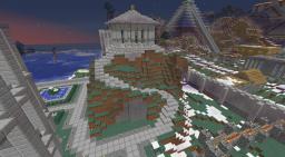 Circular Roman Temple Minecraft Map & Project