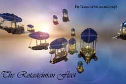 The Rotasteinian Fleet~~[100 SUBSCRIBERS SPECIAL]~~ Minecraft Map & Project