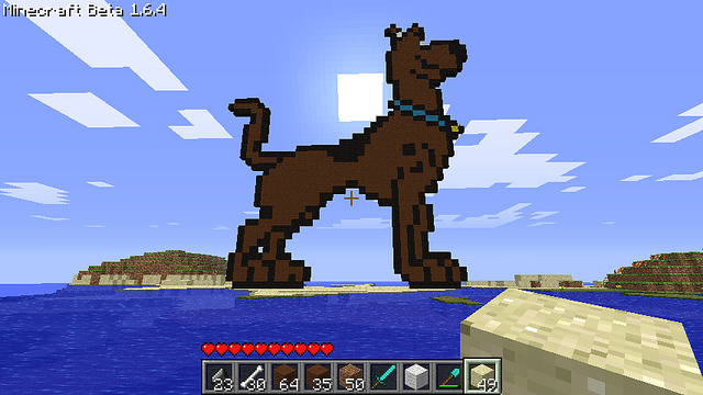 i love scooby-doo Minecraft Project