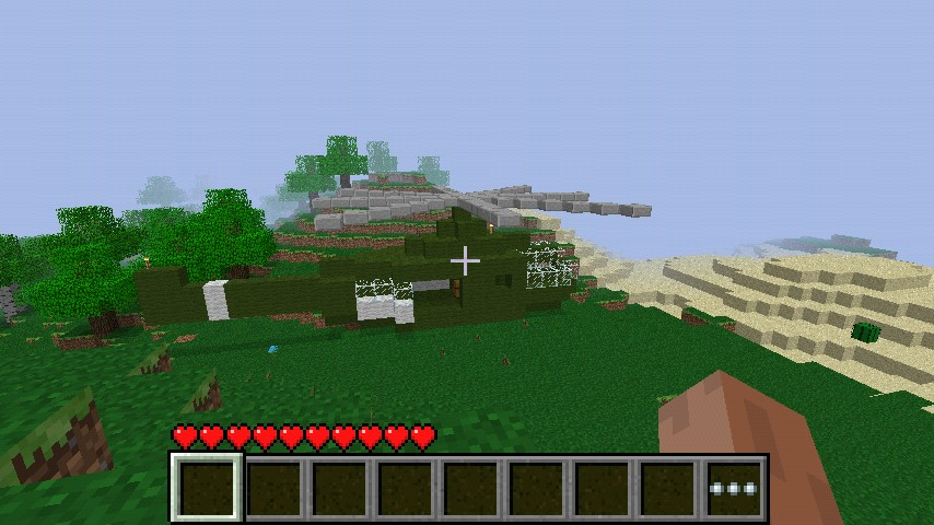 Minecraft Pocket Edition Survival Map Helicopter Crash Minecraft