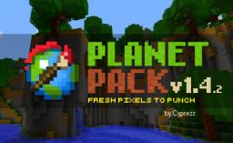 Planet Pack v1.4.2 Minecraft Texture Pack
