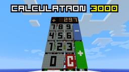 Compact Calculator Minecraft Project