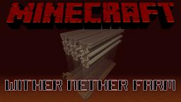 Wither Nether Farm Minecraft Map & Project