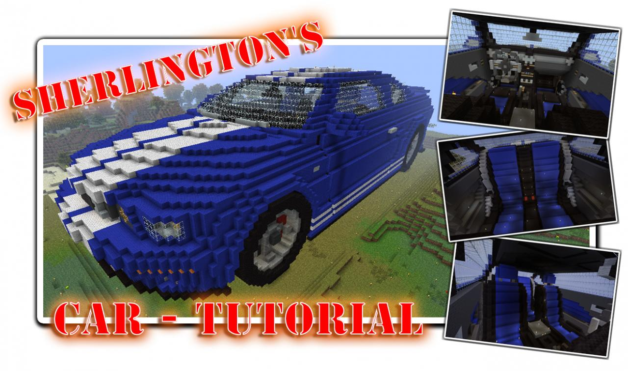 Sherlingtons car tutorial minecraft blog sherlingtons car tutorial malvernweather