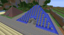 2 Custom Pyramids Minecraft Map & Project